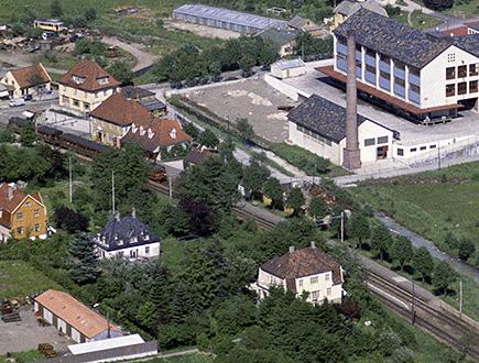 Fra Widerøe-samlingen, Universitetsbiblioteket i Bergen. Bildet er noe beskåret.